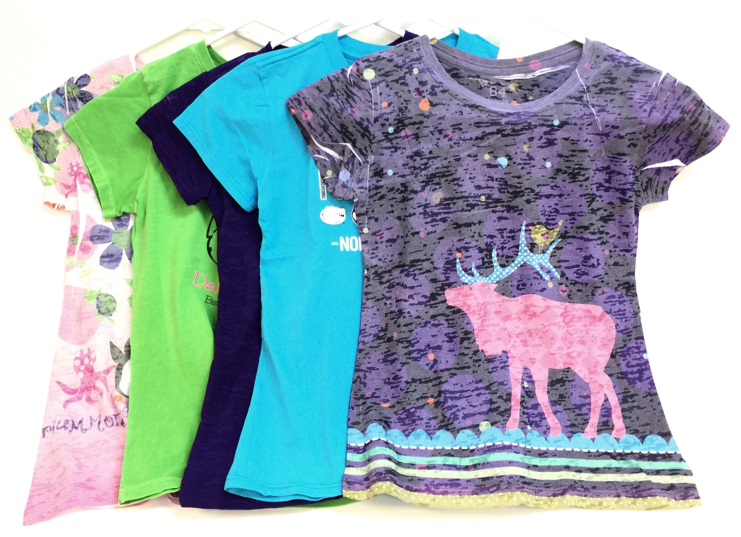 Asst Child Decorated Tees