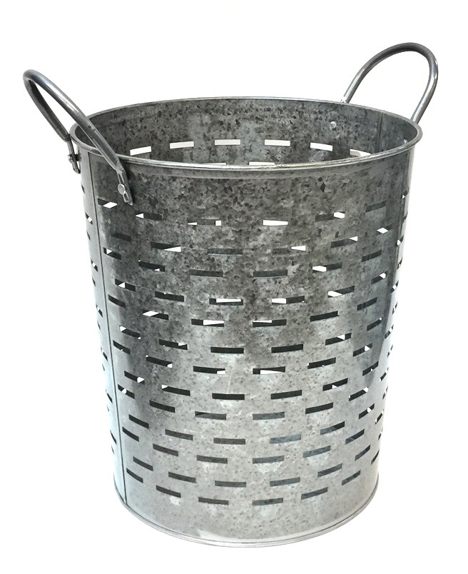 Metal Bucket w/Handles