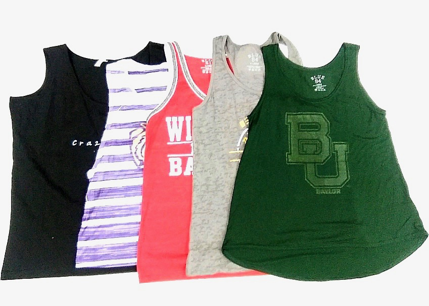 Ladies Decorated Tank Tops