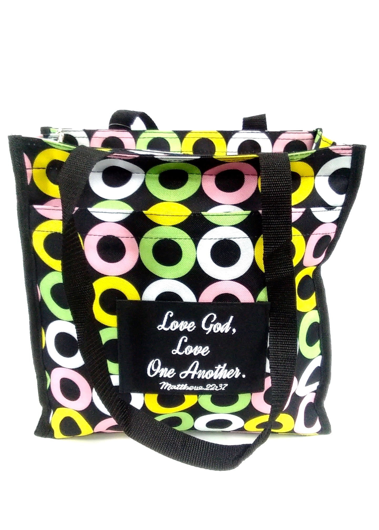 Love One Another Square Tote