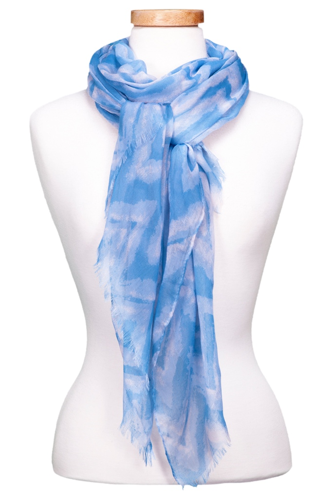 Chevron Watercolor Scarf Asst