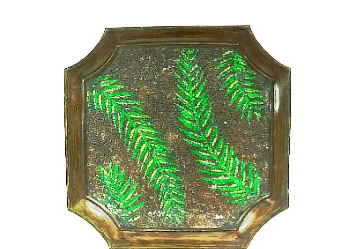Charger Plate - Fern Design