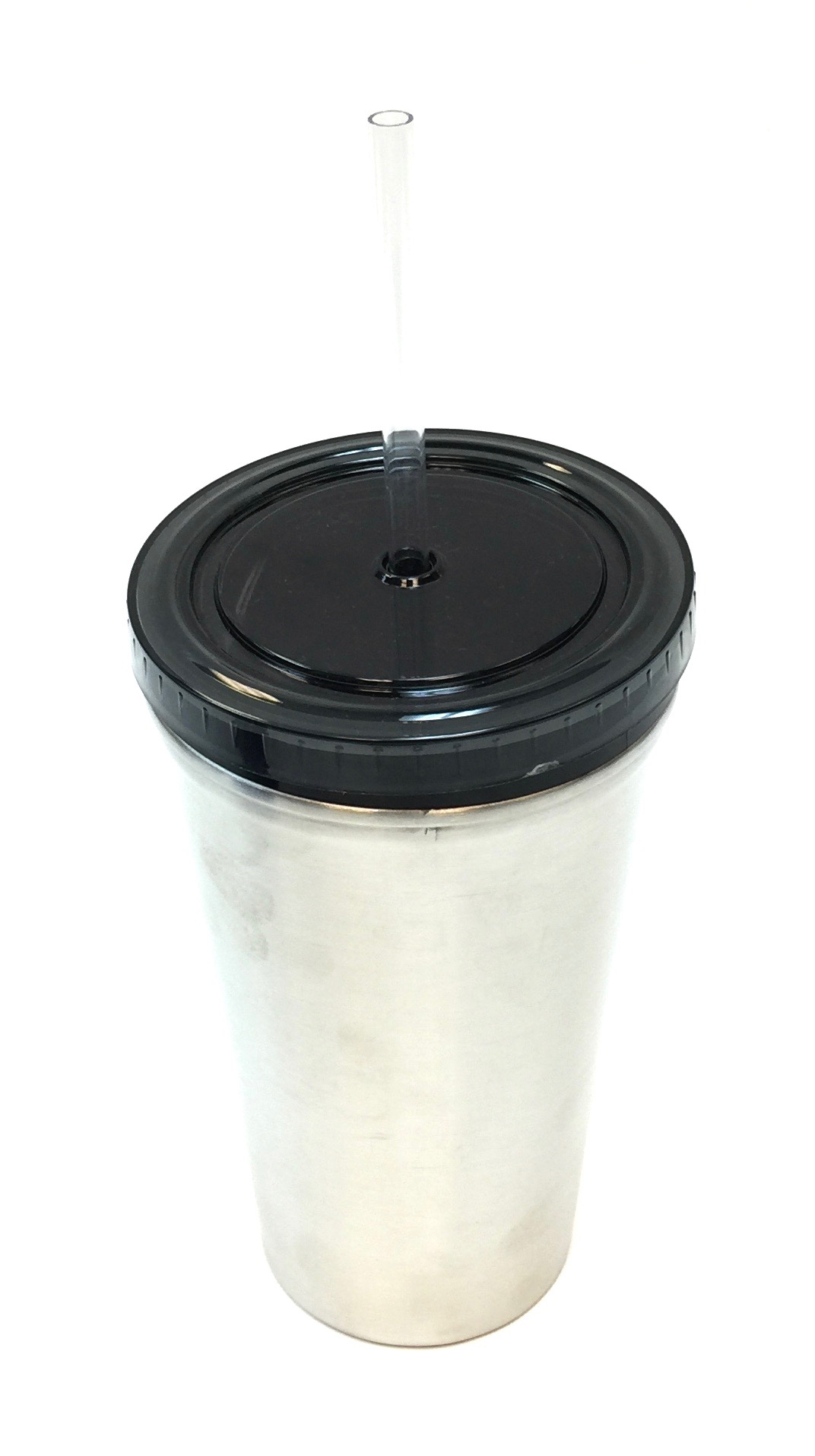16 Oz Stainless Steel Mug - Silver