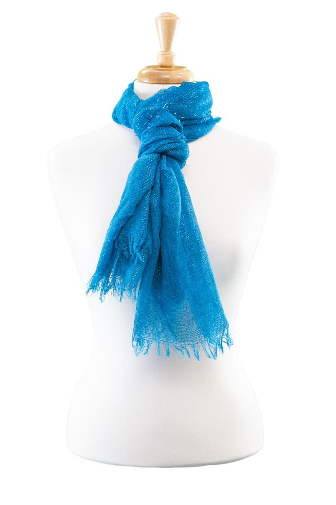 Large Sparkle Wrap Scarf Asst*