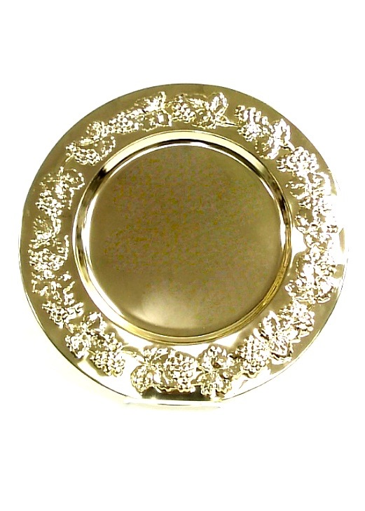 (82519) Baroque Style Charger Plate