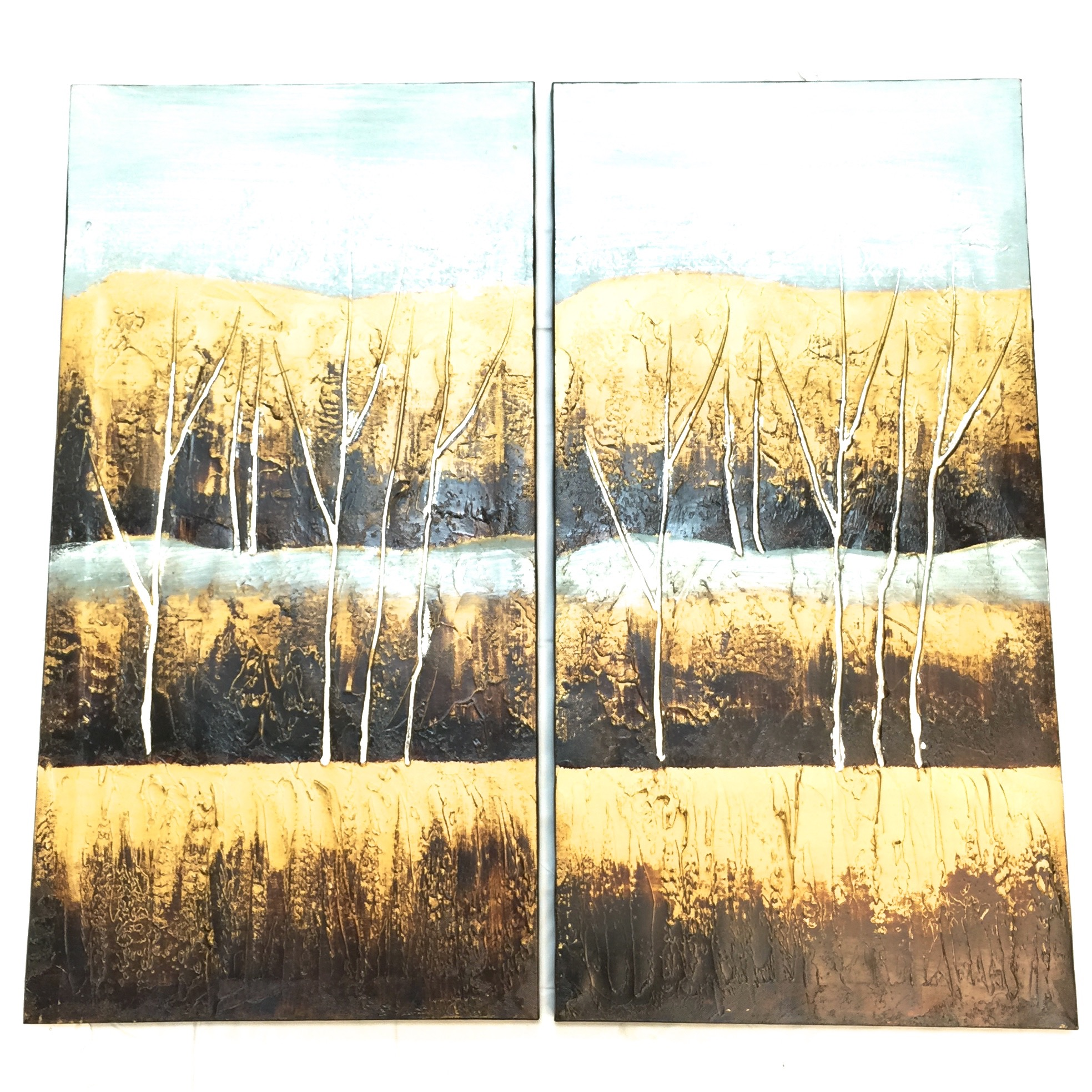 Mountain View Painting set of 2