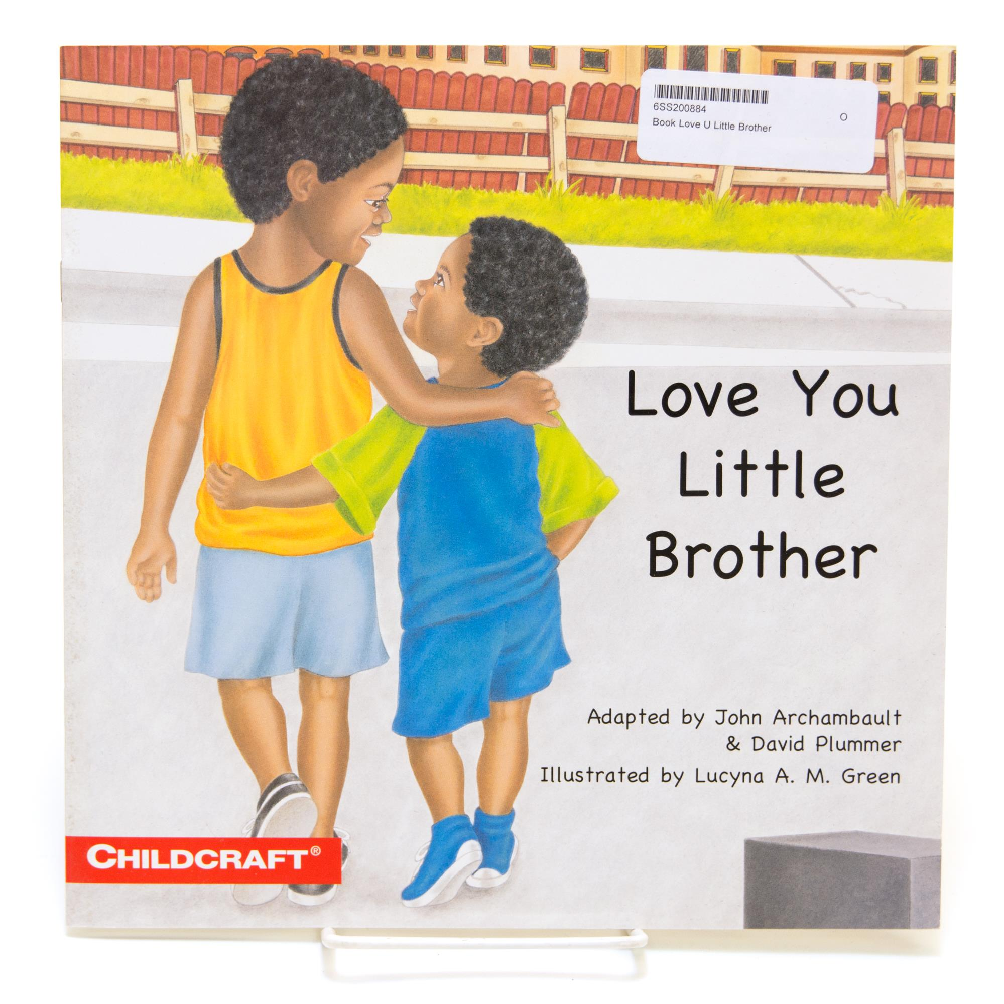 Book Love You Little Brother