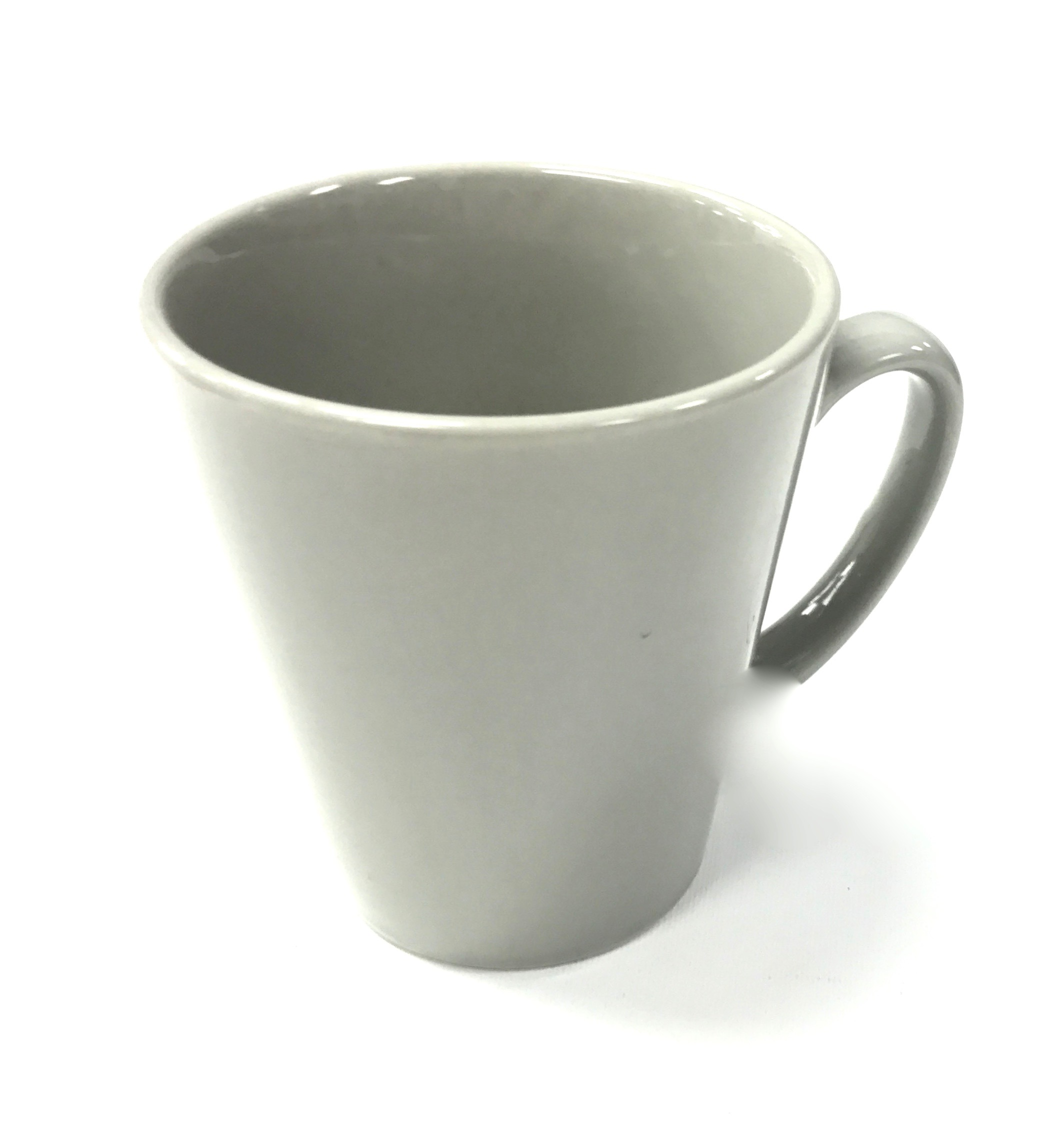 12 Ounce Coffee Mug Grey