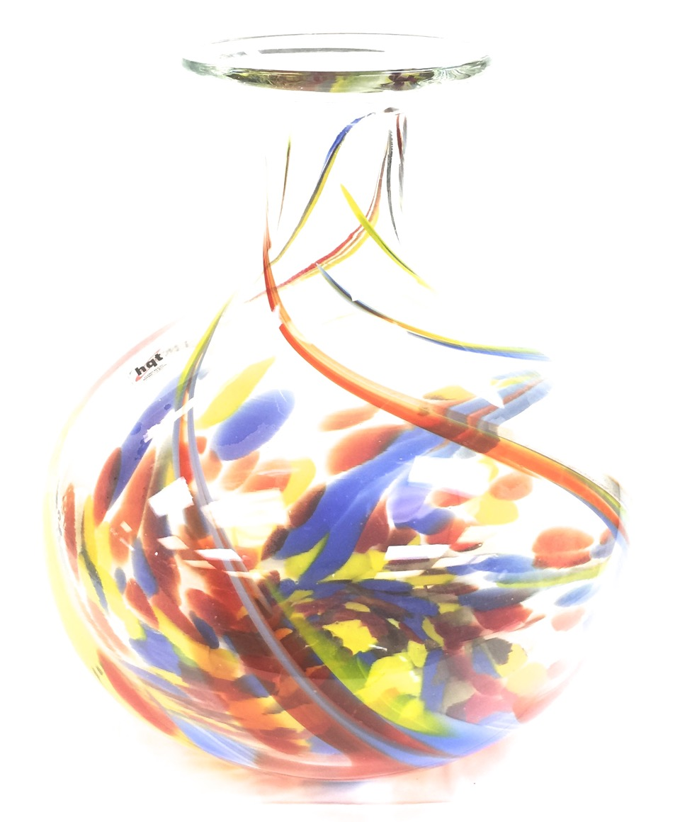 Glass Vase Multi Color