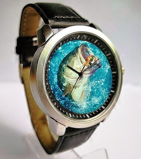 """Bass Hunter"" Wrist Watch"
