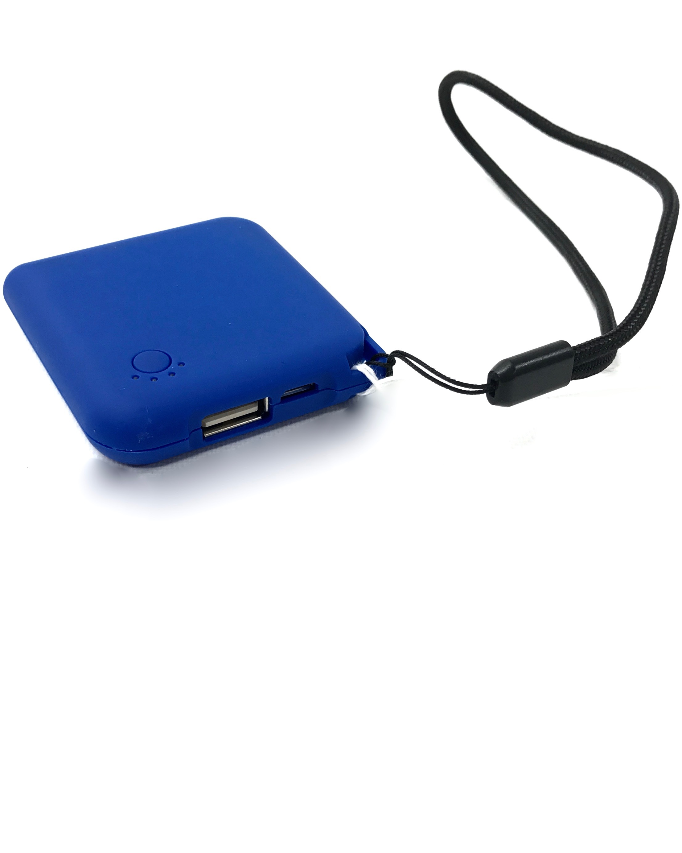 (0073119) Square Portable Power Bank - Blue
