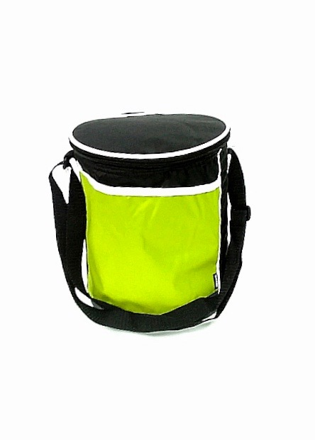 Slanted Round Cooler - Apple Green