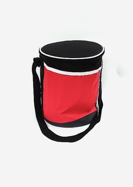 Slanted Round Cooler - Red