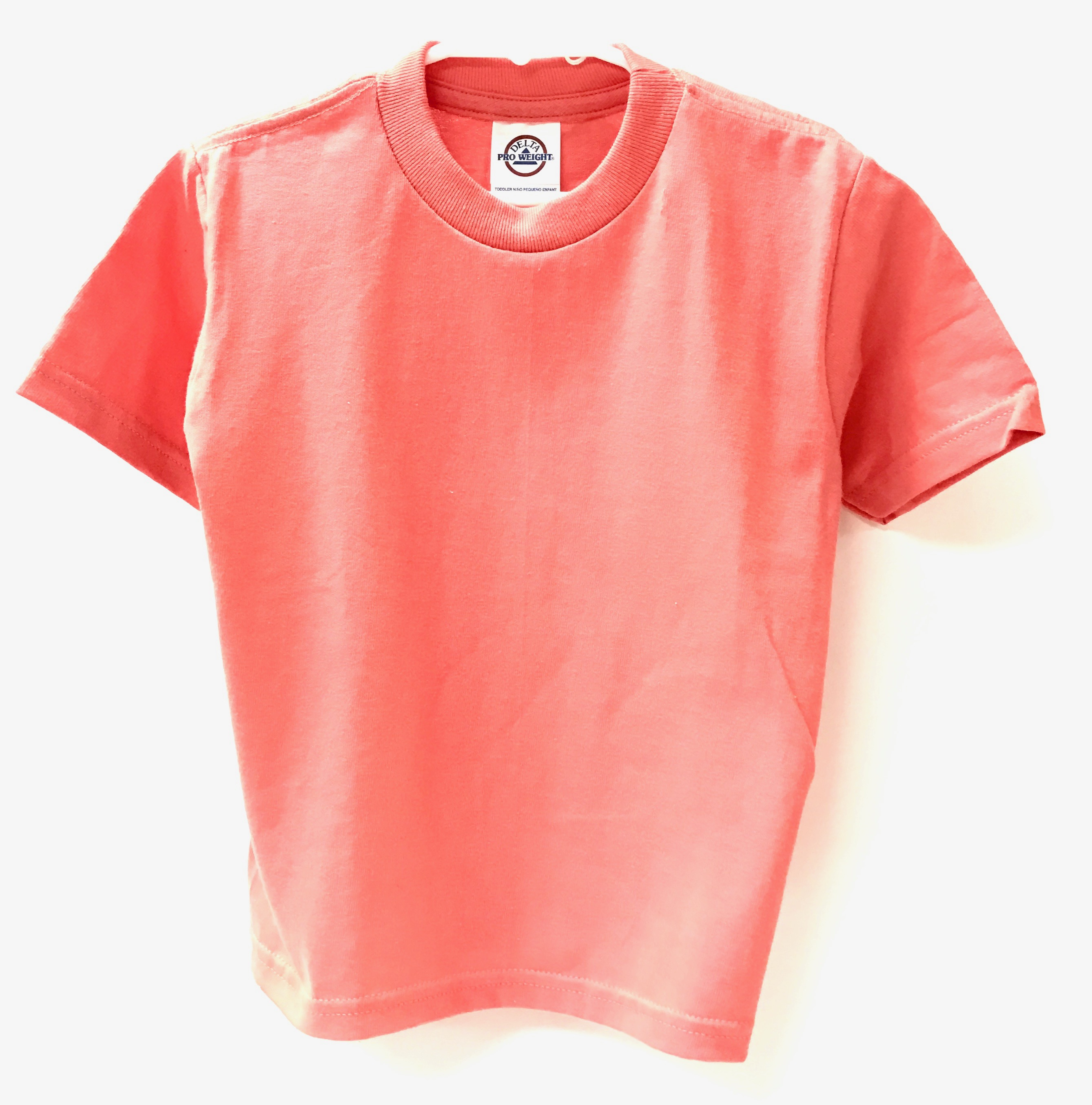 Toddler Short Sleeve Tee - Coral