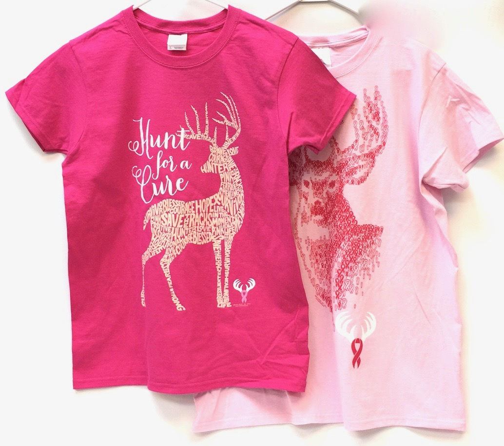 Missy Pink Hunt For Cure Tees Asst
