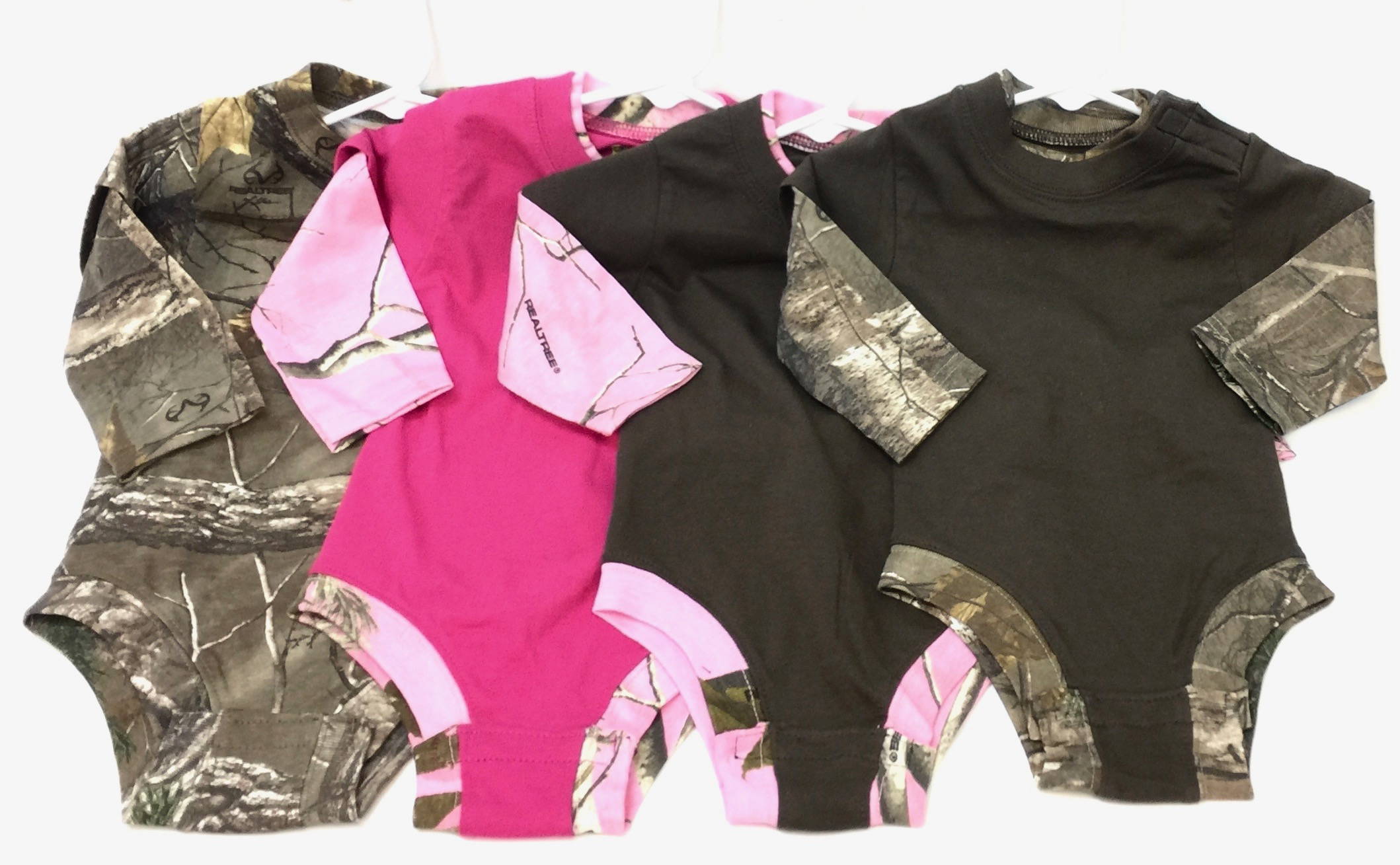 Toddler Camo Full Bodysuit Asst
