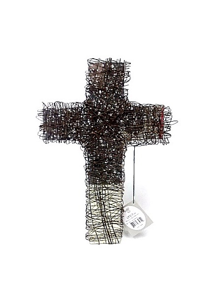 Cross Wire W/Glass - Large