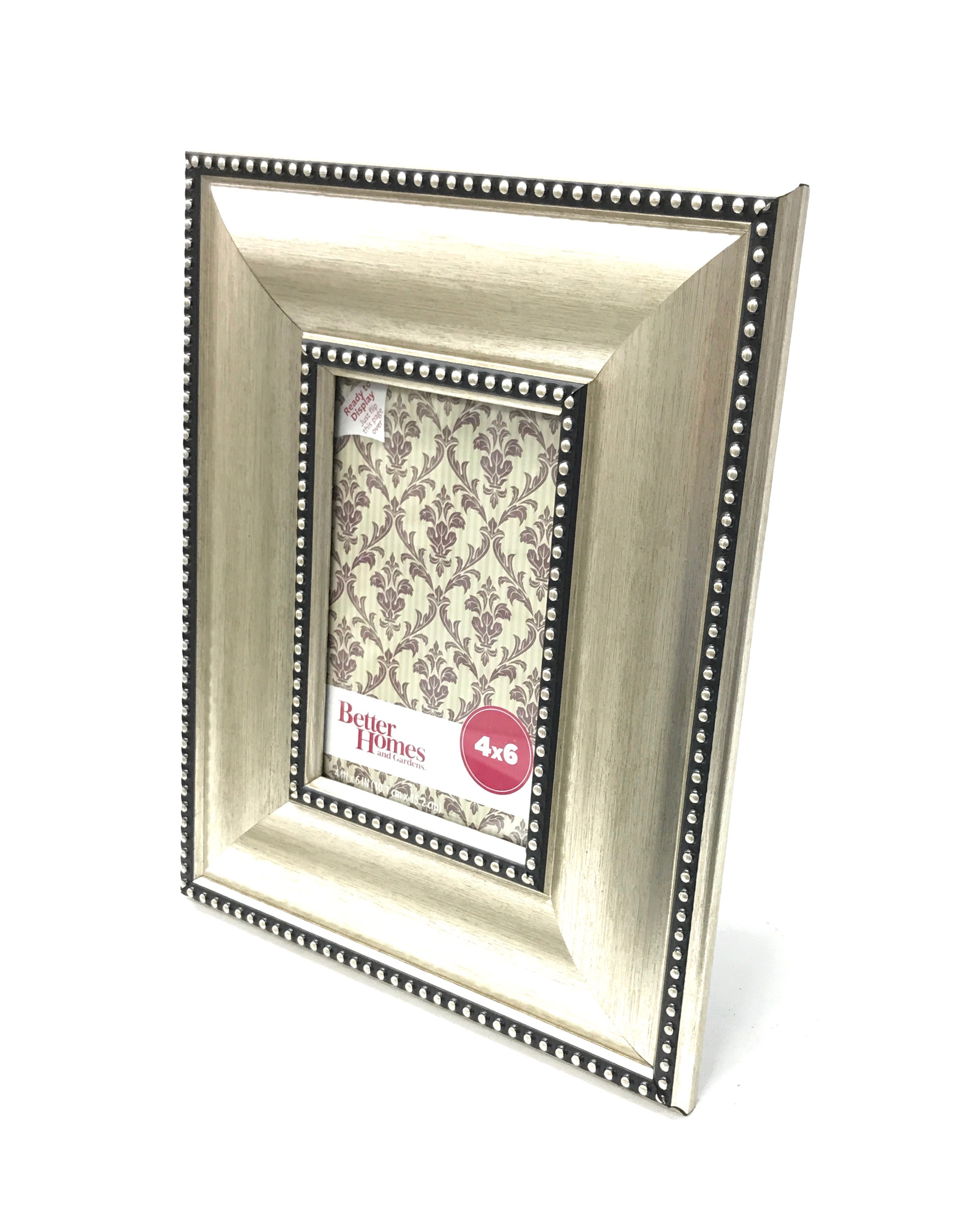 Montclair Satin Metal Picture Frame 4x6