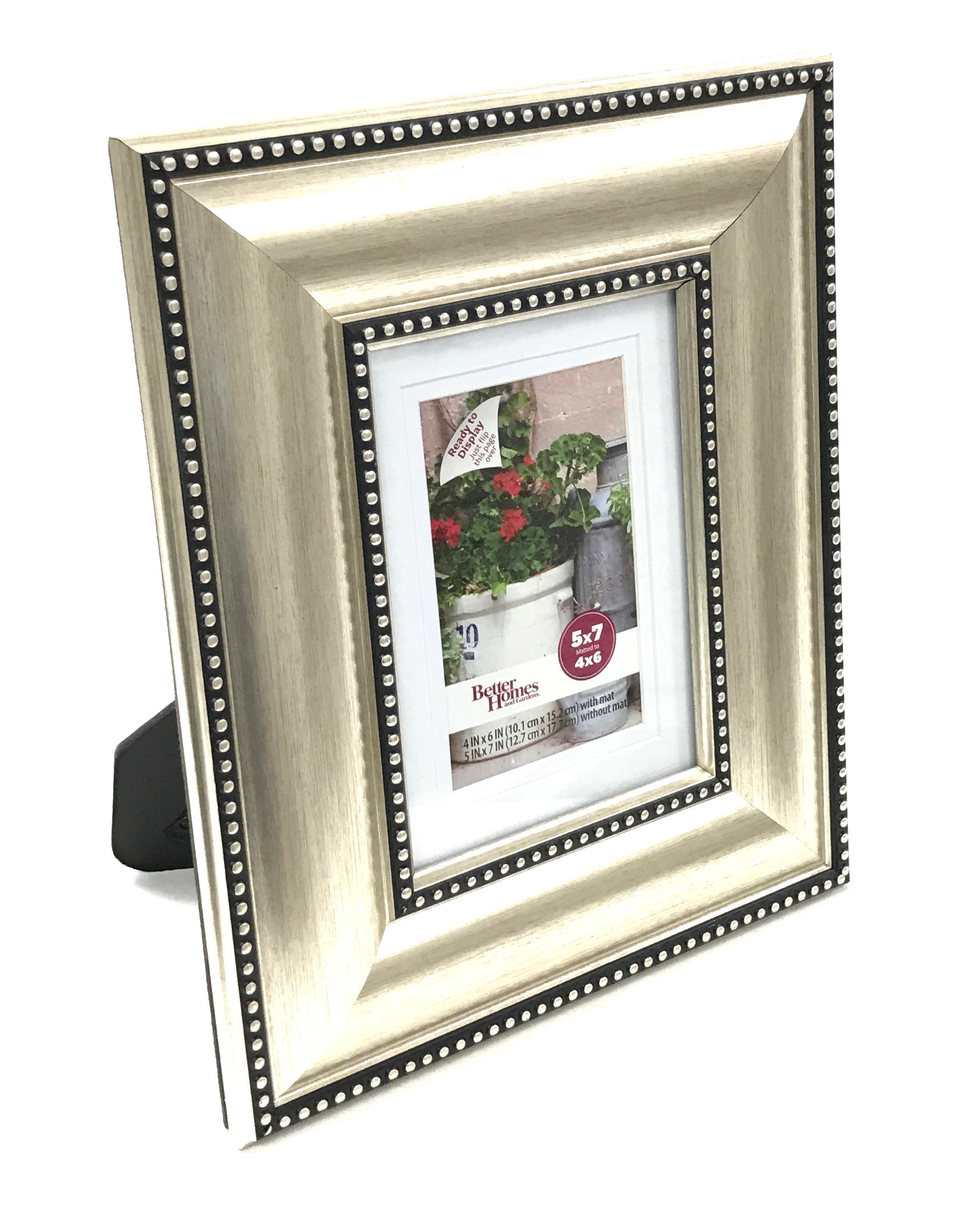 Montclair Satin Metal Picture Frame 5x7