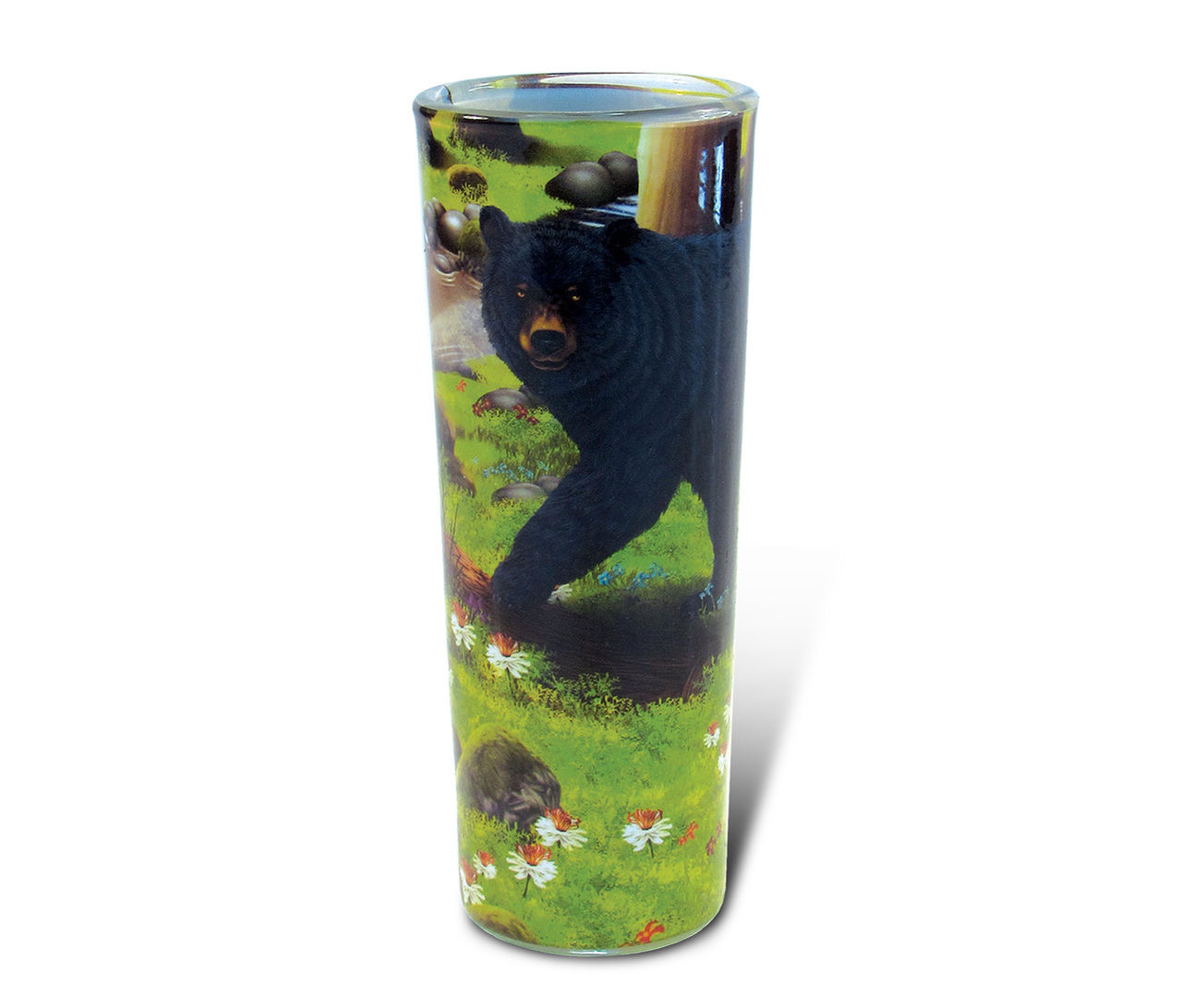 Full Shooter Shot Glass Black Bear