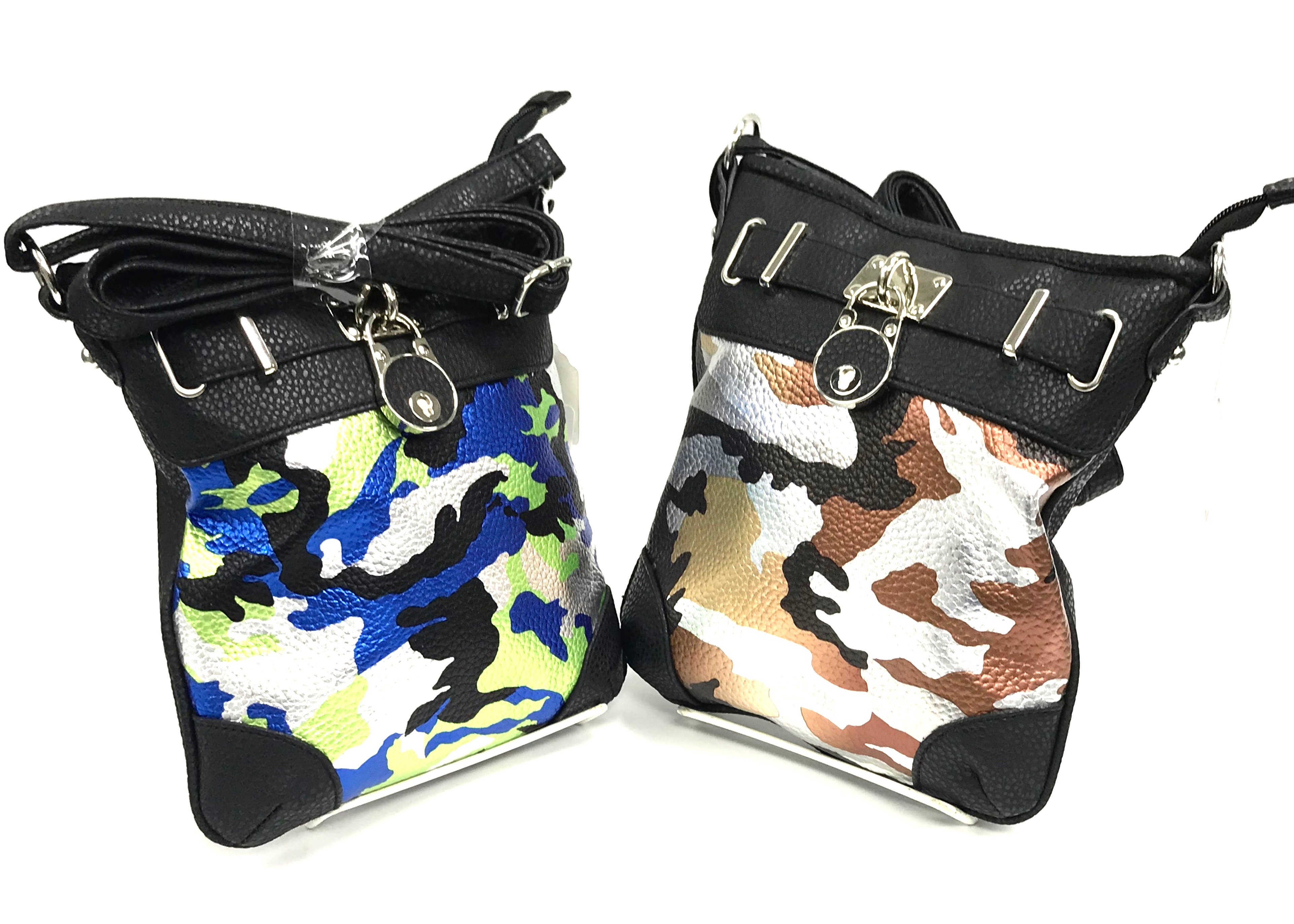 Camo Crossbody With Lock 2/A