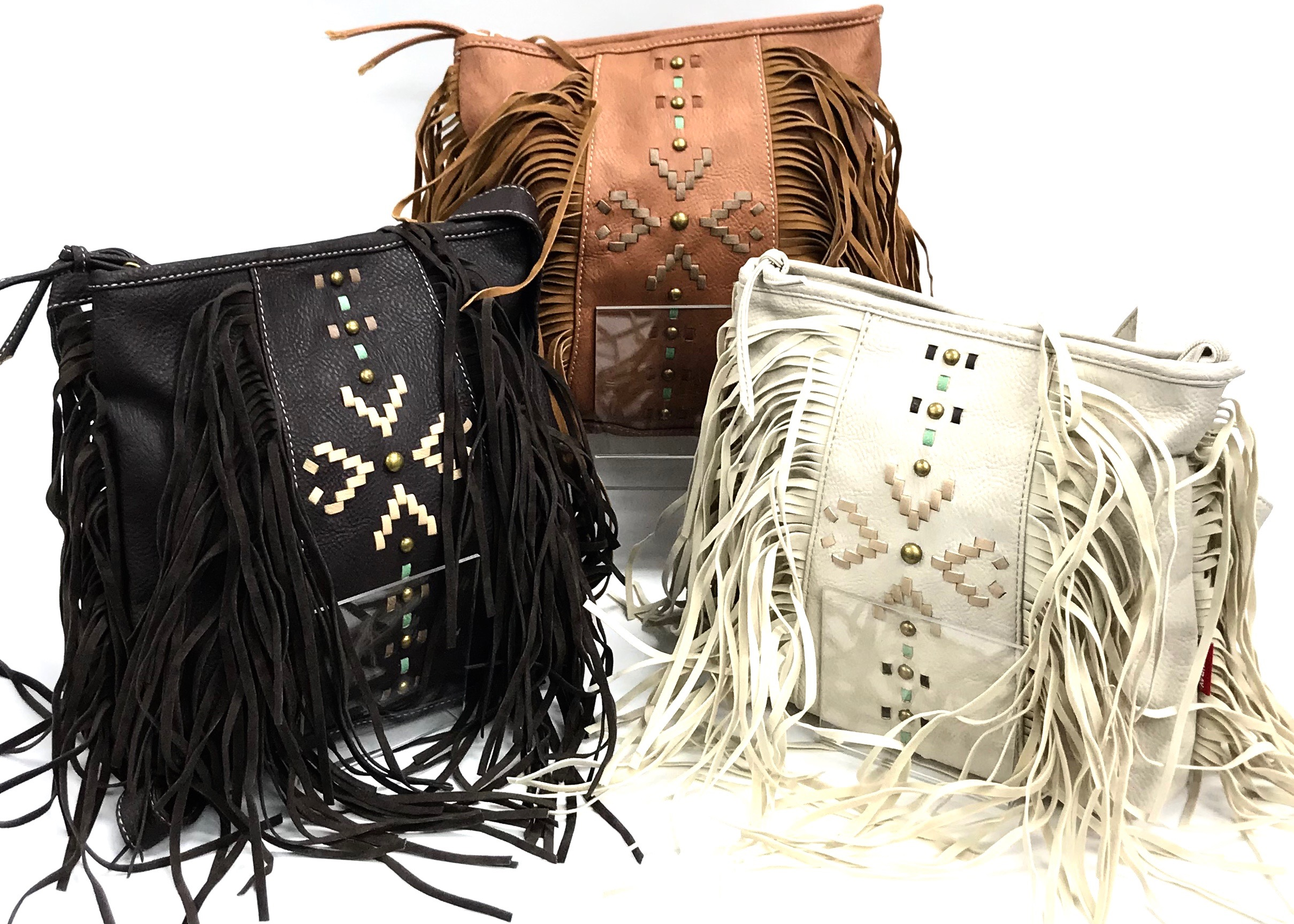 Crossbody Backpack Fringe 3/A