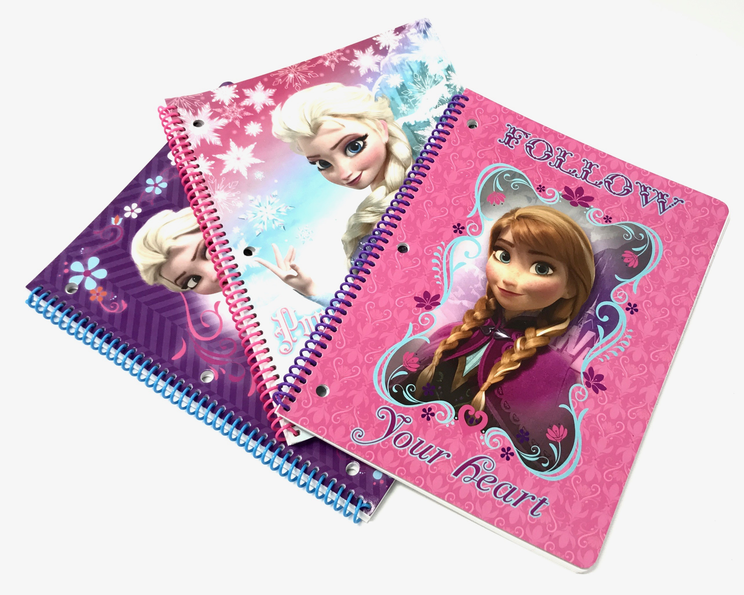 Frozen 100 Pg Spiral Notebook 3/A