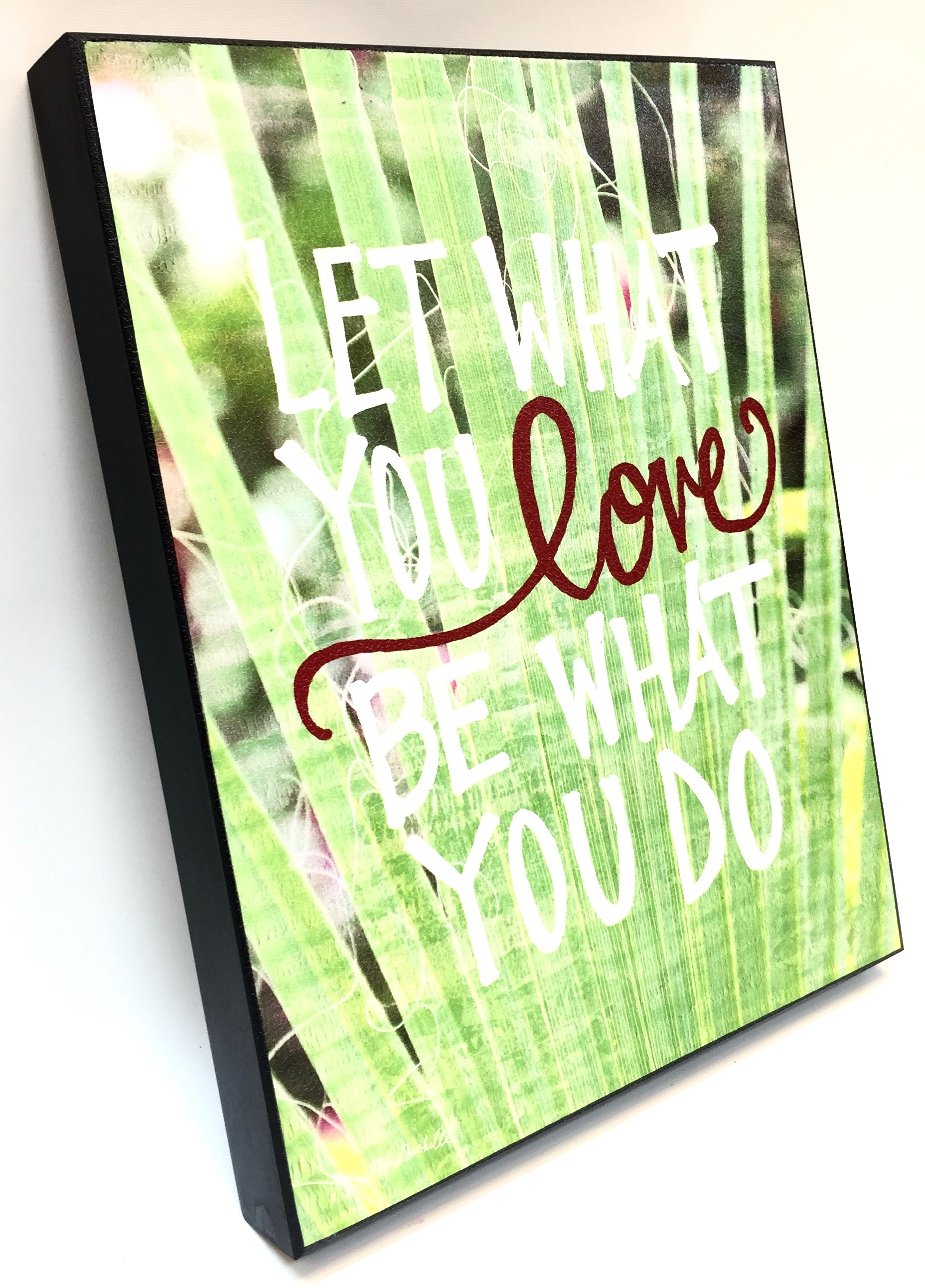 11x14 Be What You Do Box Frame