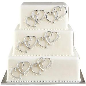 Cake Décor 6 Ct Heart