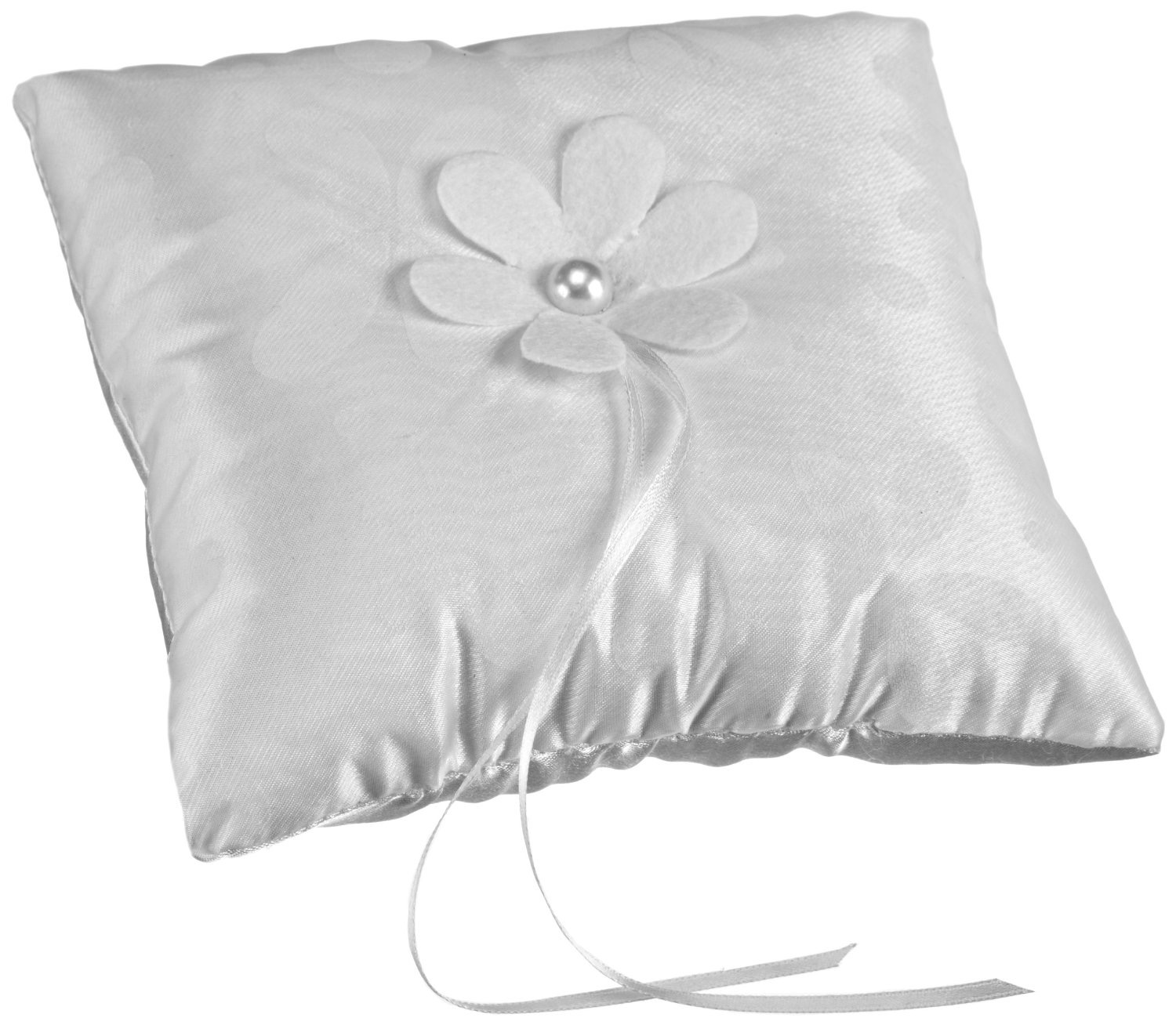 Ring Pillow Floral Simplicity