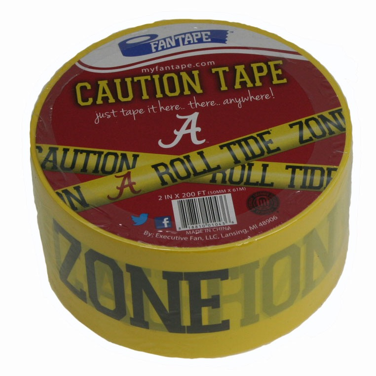 (010436) Caution Tape - Alabama Univ