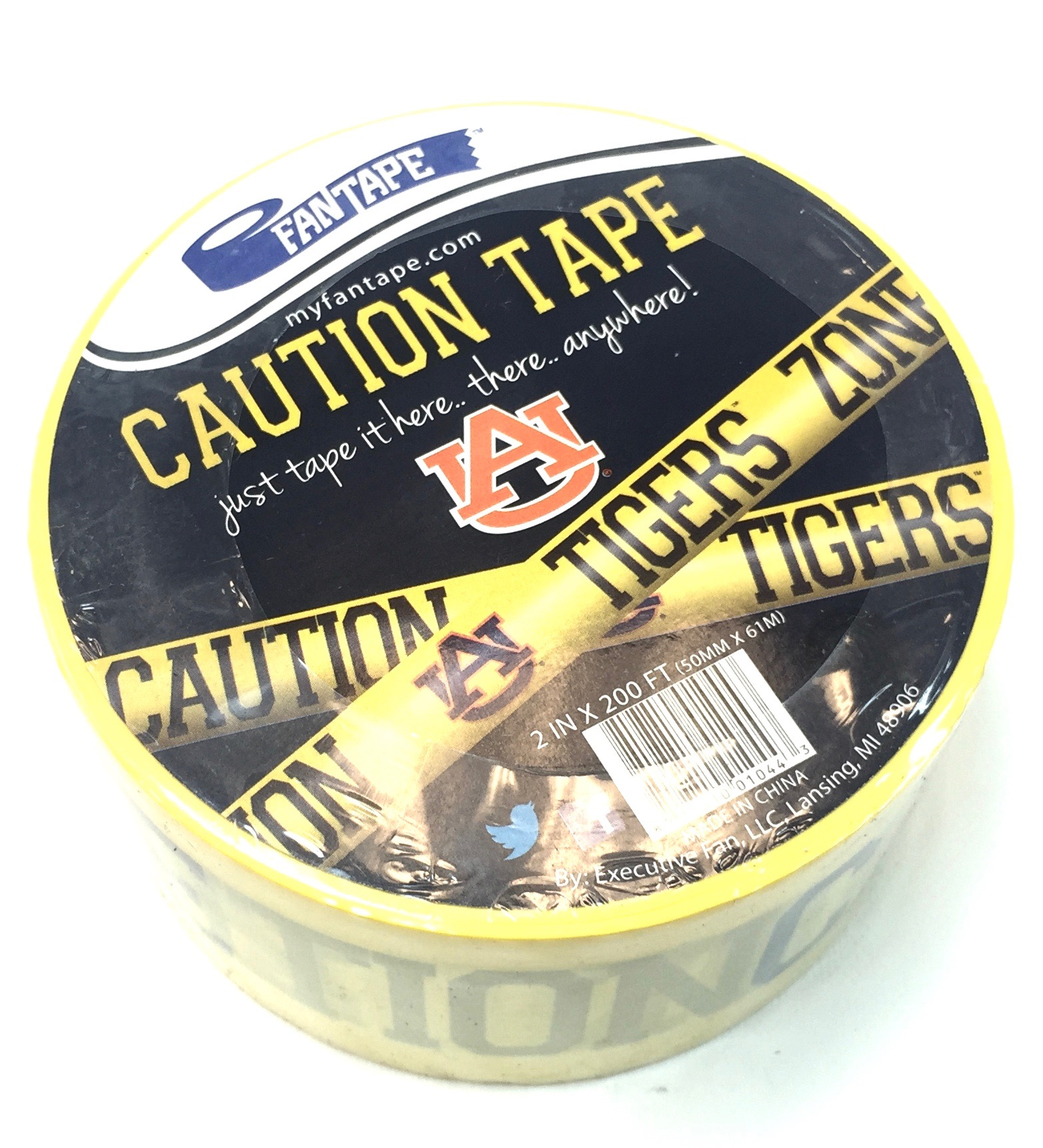 (010443) Caution Tape - Auburn