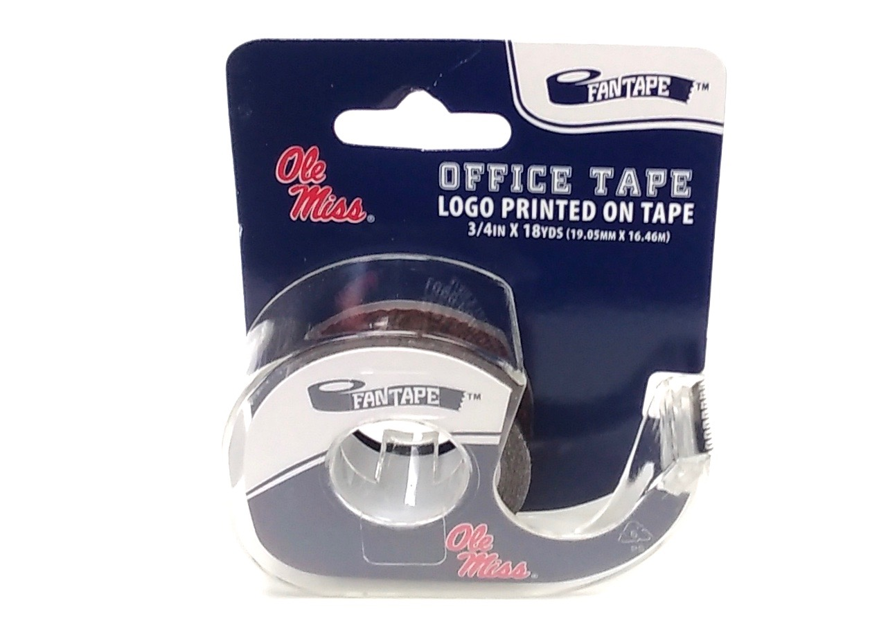 (003300) Office Tape - Mississippi Ole Miss