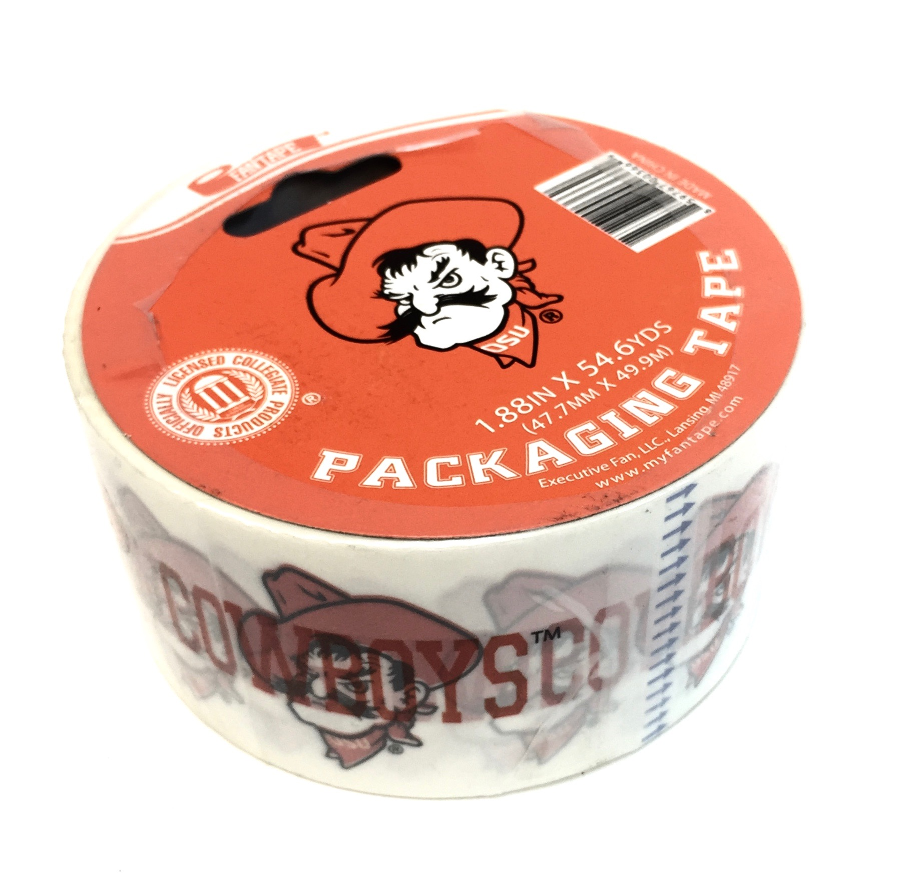 (003669) Packing Tape - Oklahoma State