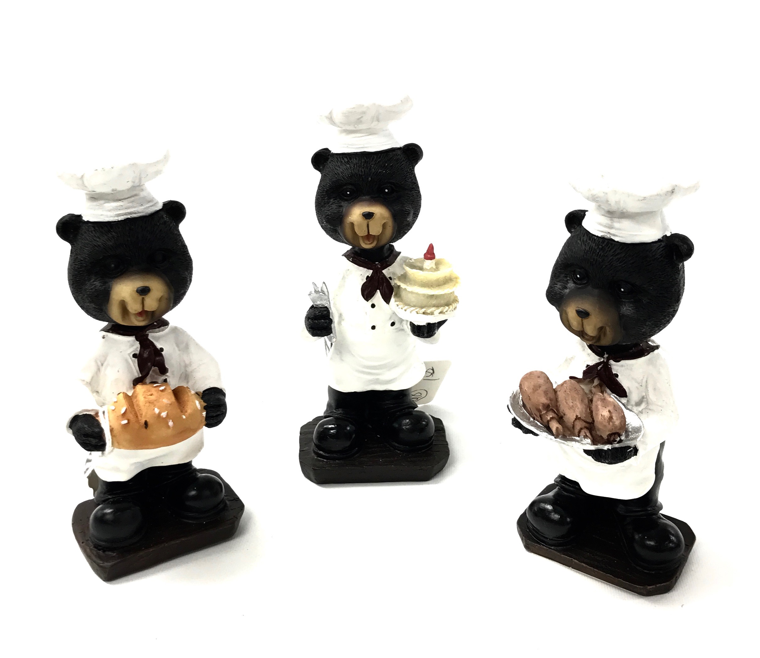 Bobble Head Chef Bear 4/A