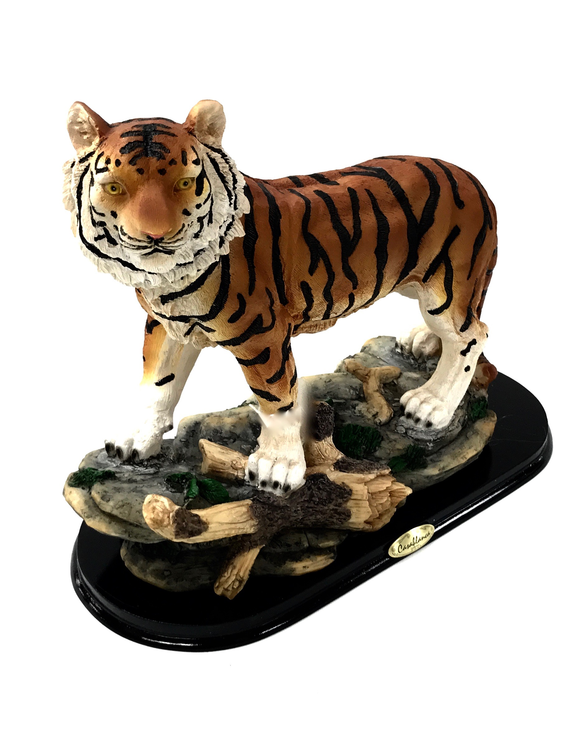 Tiger On Branch Figurine