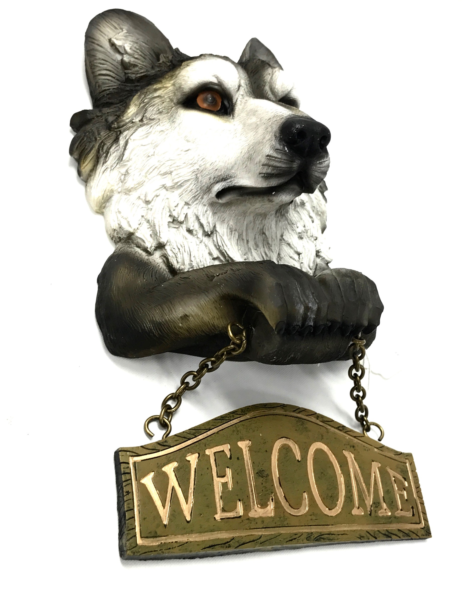Grey Wolf Welcome Sign