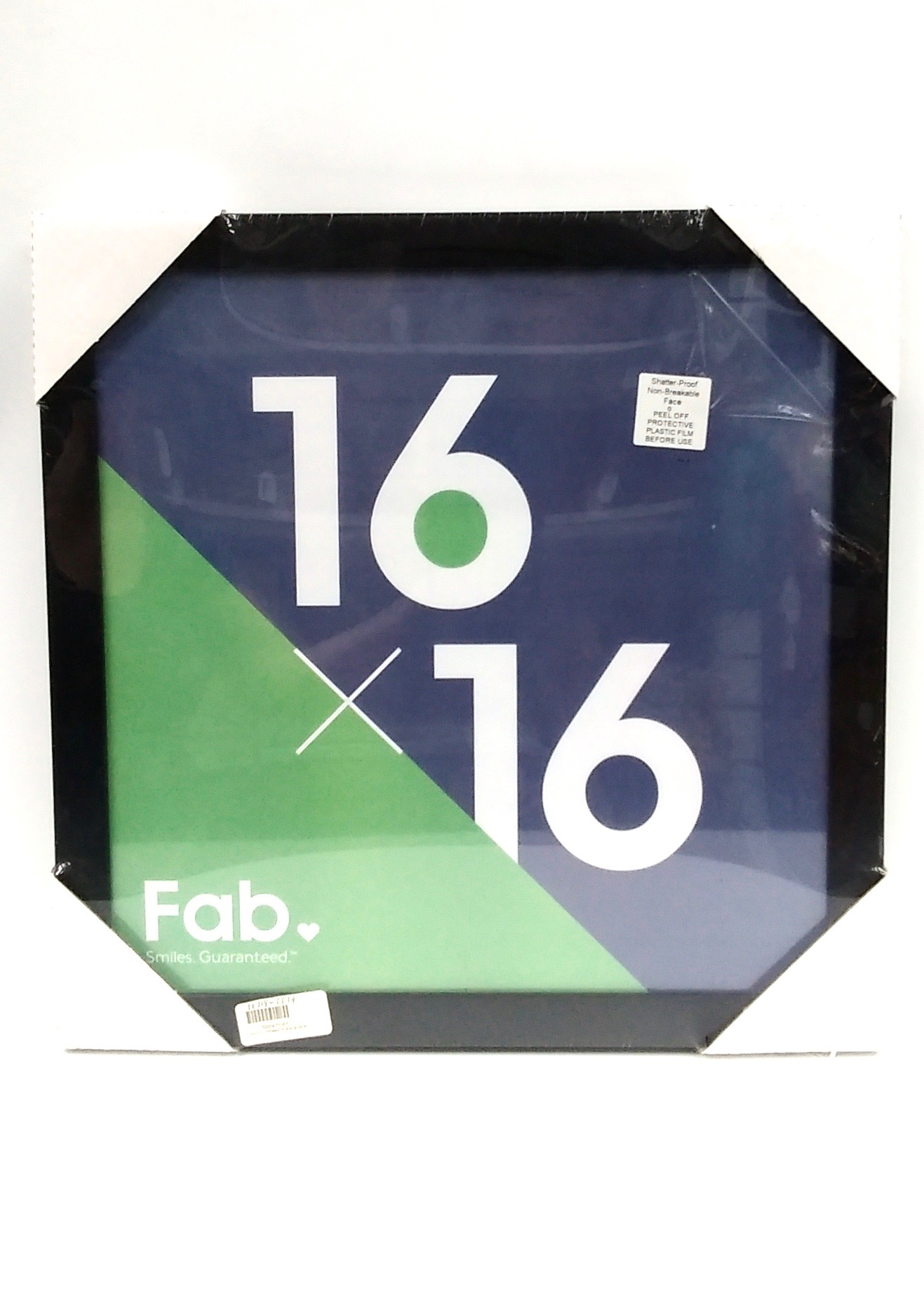 (471067) Photo Frame Plexi Black 16x16