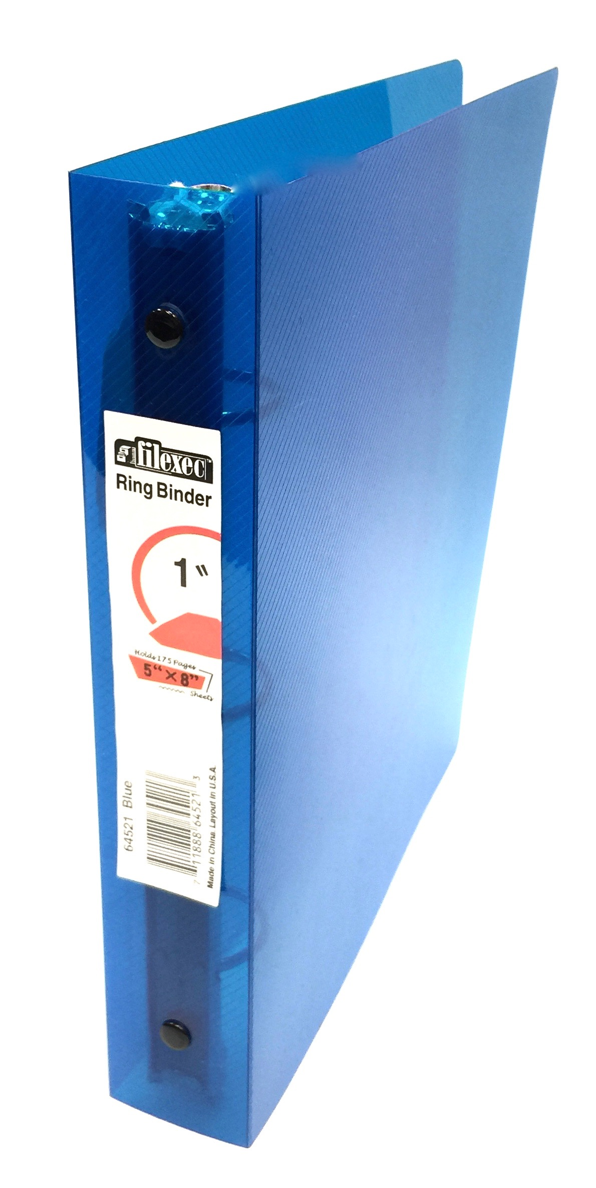 3 Ring Binder 5x8 - Blue