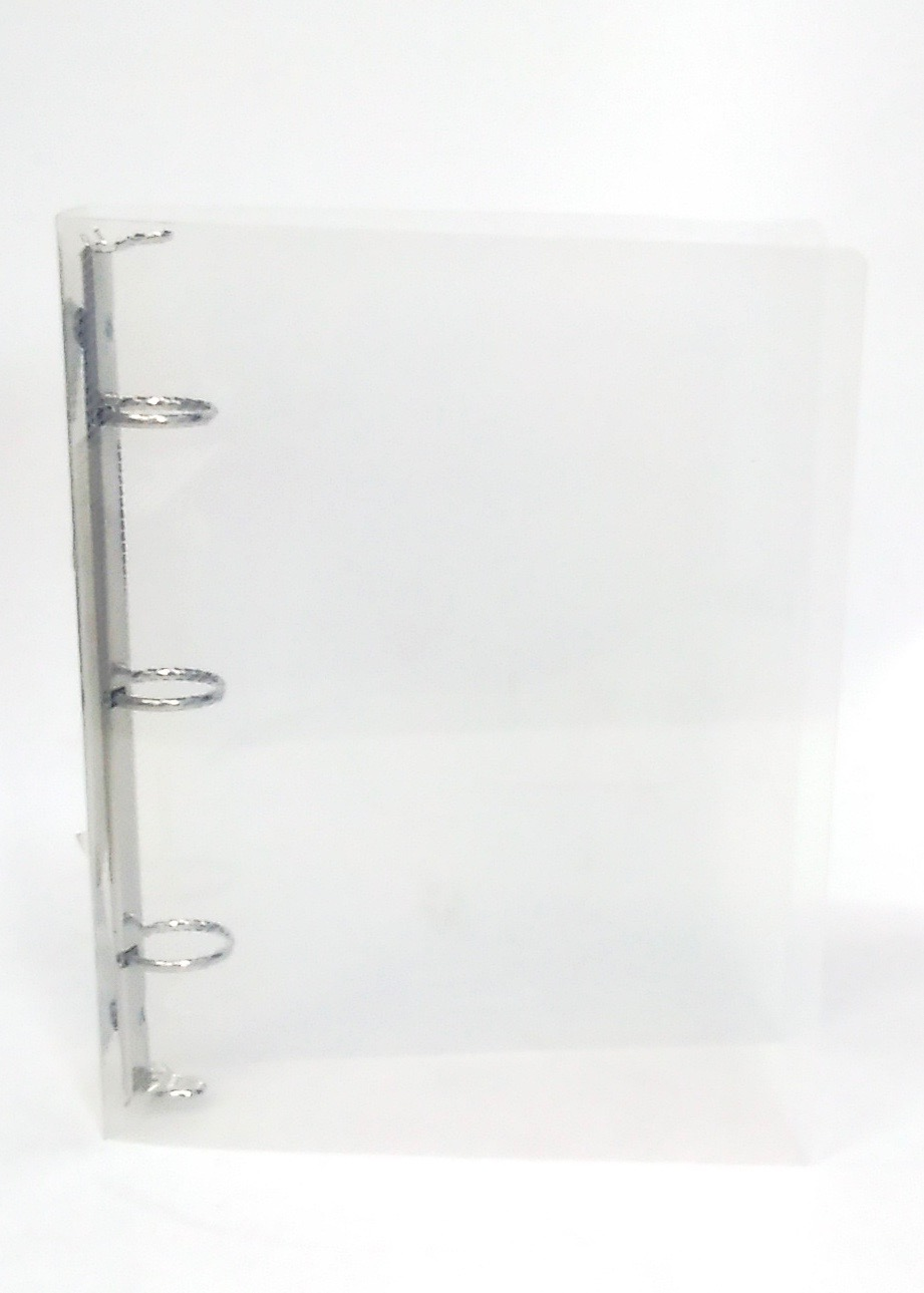 3 Ring Binder 5x8 - Clear