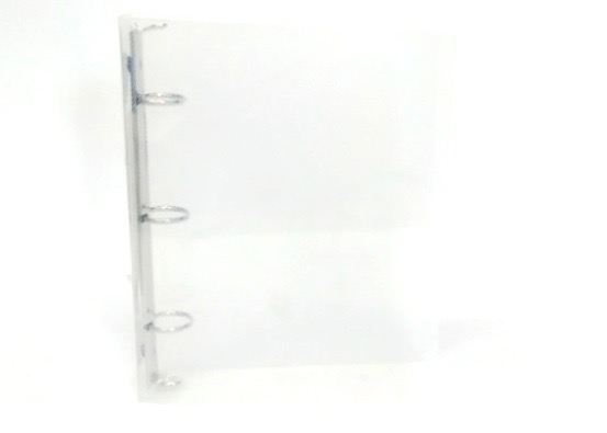 3 Ring Binder 6x9 - Clear
