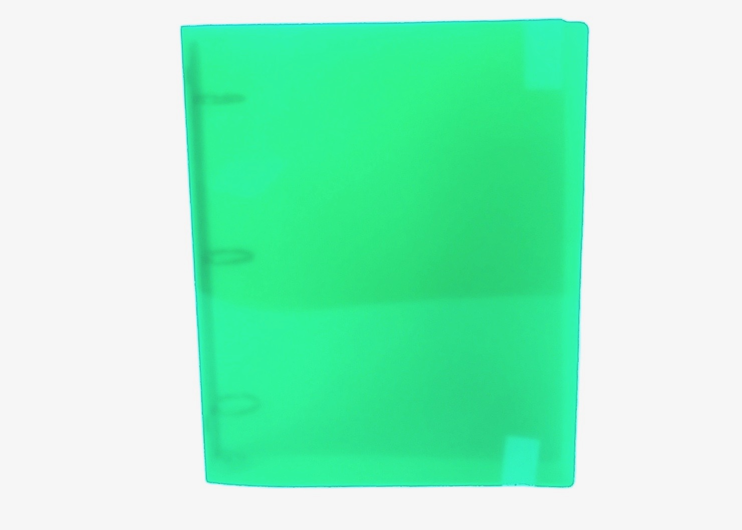 3 Ring Binder 6x9 - Green