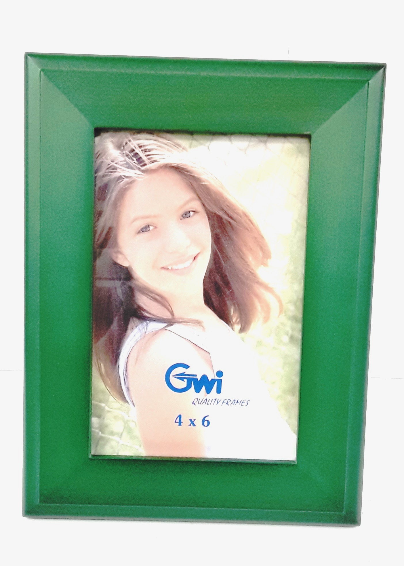 4x6 Picture Frame Green