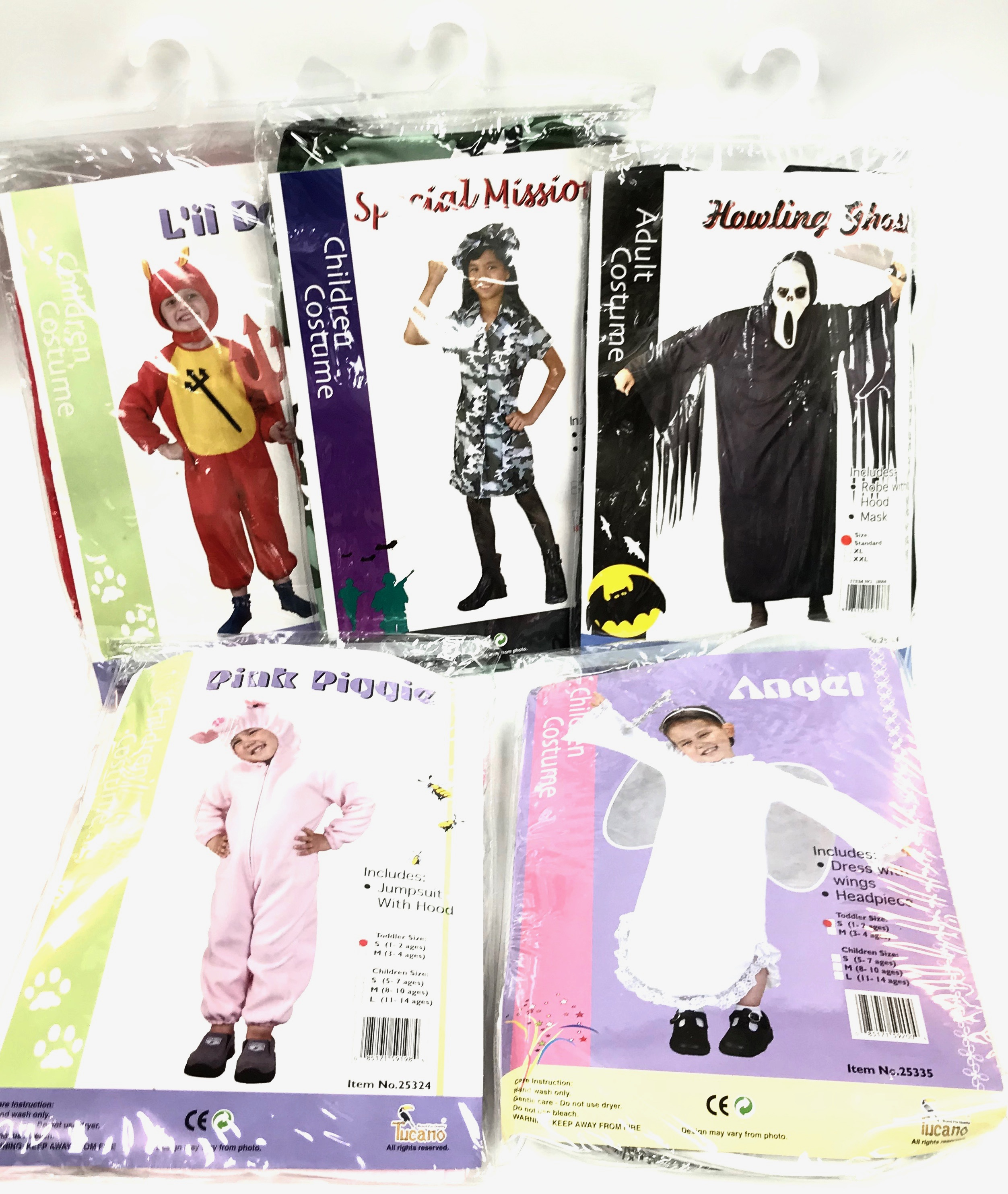 asst halloween costumes childrens - Halloween Novelties Wholesale