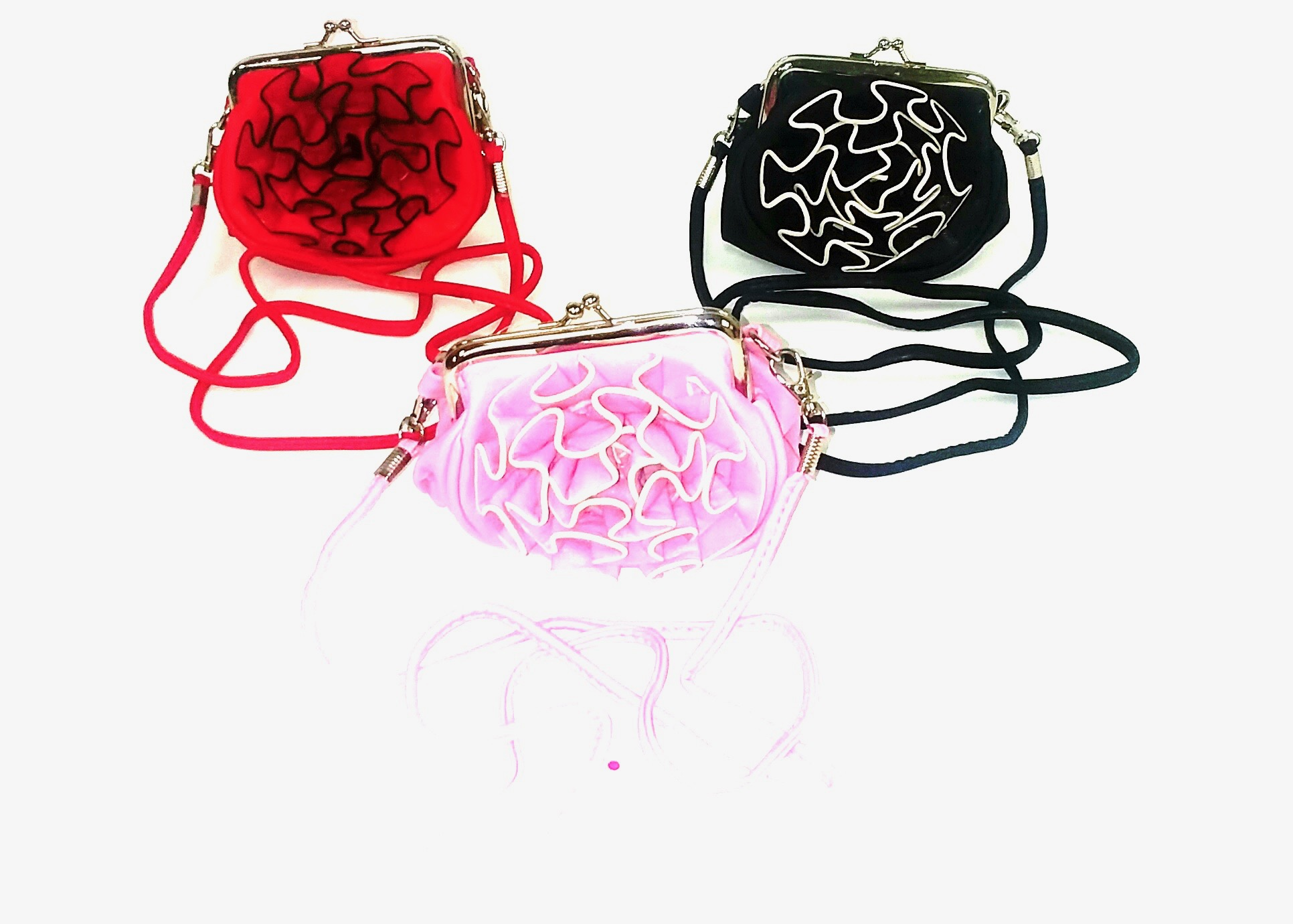 Flower SnapLock Coin Purse - Asst