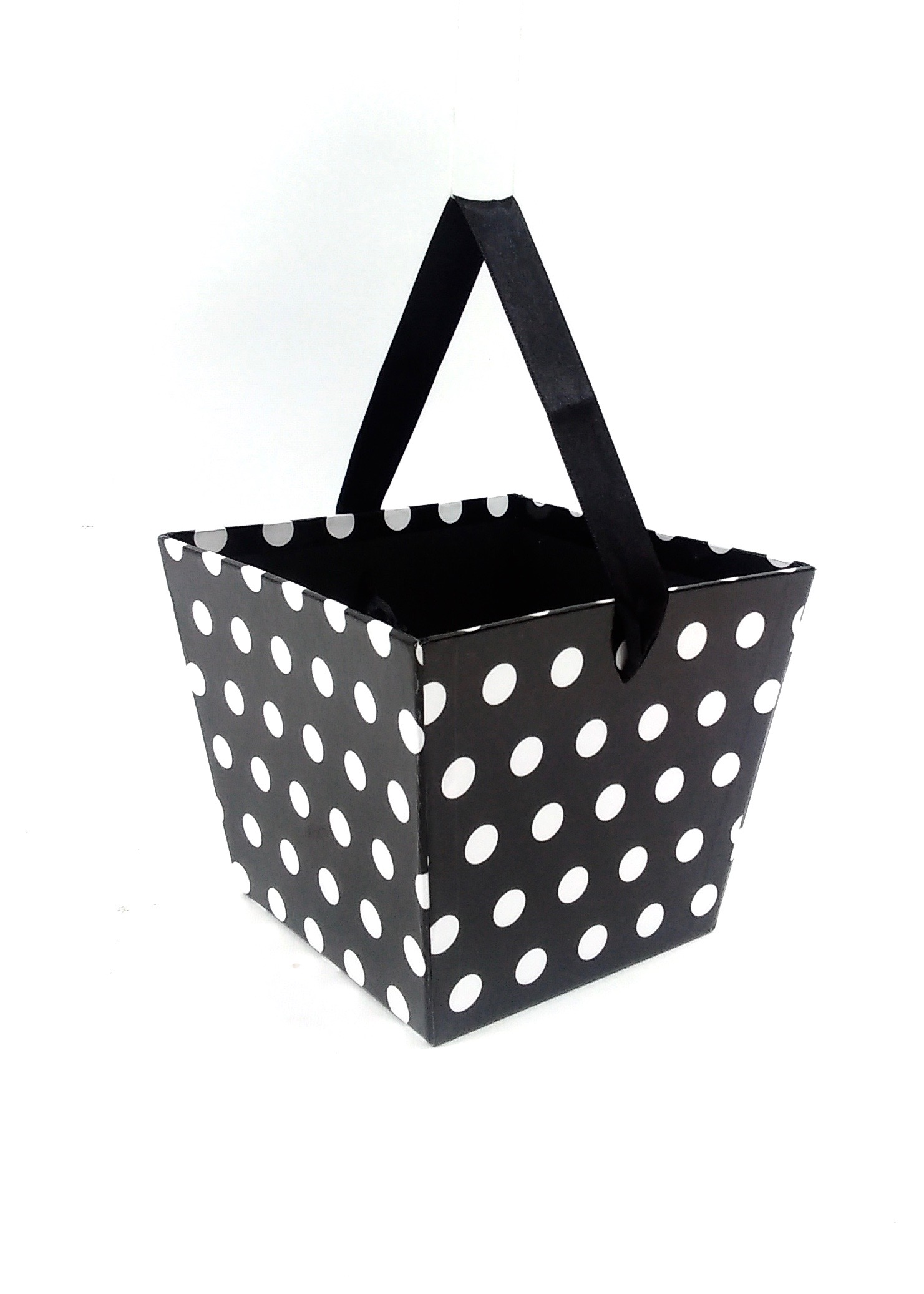 Canadian Wholesale Home Decor Gift Basket Black White Dot Itg10955 0 83 Toys