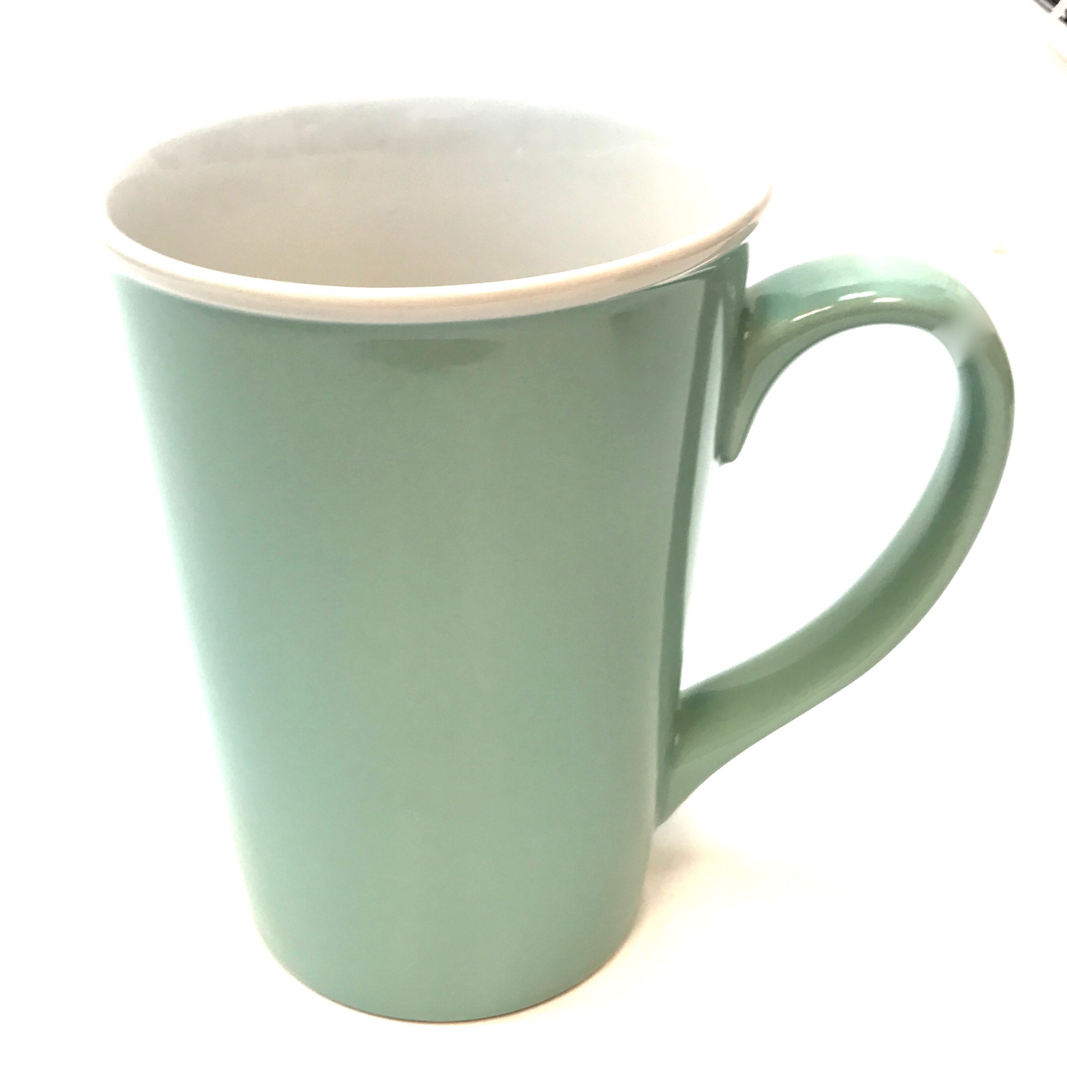 Primo 15 Oz Ceramic Mug - TIPPANY BLUE