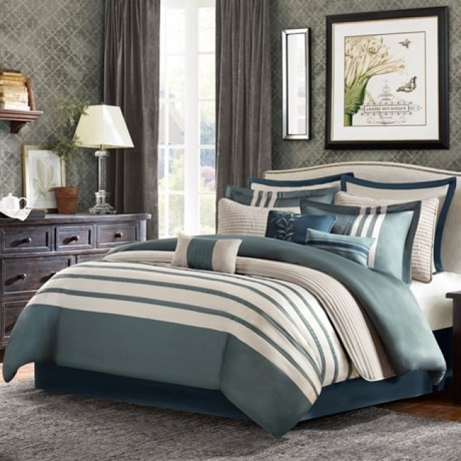 Madison Park King 12 Pc Comforter Set