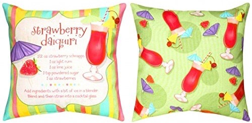 (SOFSDD) Fun Summer Drinks Pillow