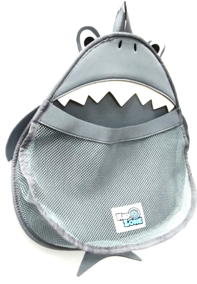 Kid Zone Bath Toy Organizer Shark Prw1000 3 03